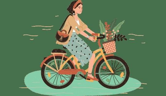 Illustration - Bike Ride