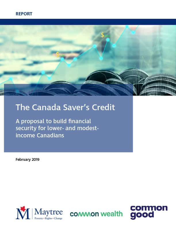 The Canada Saver's Credit