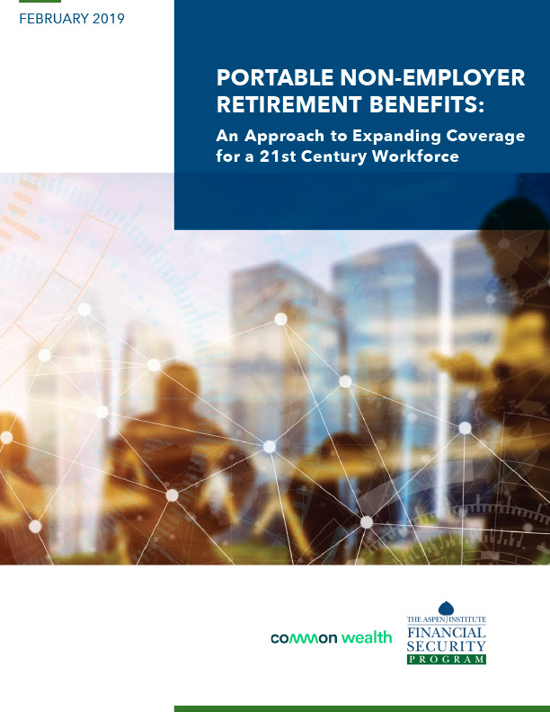 Report - Portable Non-Employer Retirement Benefits